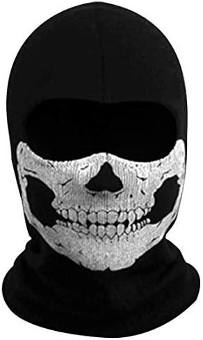 Call of Duty 6 Skull Balaclava Tactical Hood Mask Ghost Skeleton Anti UV Bandana Scarf Motorcycle product image