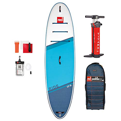 Red Paddle Co 10.8' Ride MSL Set Stand Up Paddle Sup Board aufblasbar 325x86cm