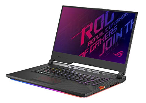 "Asus ROG Strix Scar III (2019) Gaming Laptop, 15.6"" 240Hz IPS Type Full HD, NVIDIA GeForce RTX 2070, Intel Core i7-9750H, 16GB DDR4, 1TB PCIe Nvme SSD, Per-Key RGB KB, Windows 10, G531GW-DB76"