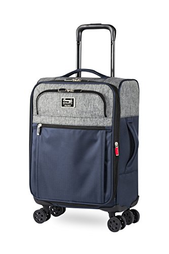 iFLY Luggage Sammy Duluth Soft Sided 20', Navy/Grey