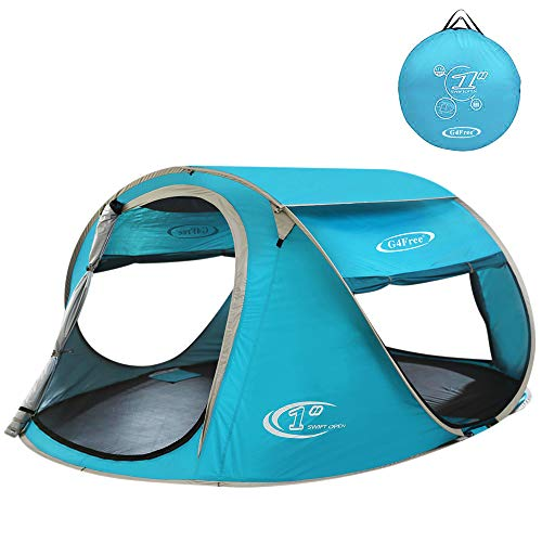 G4Free Pop Up Tent Beach Cabana Instant Backpacking Sun...