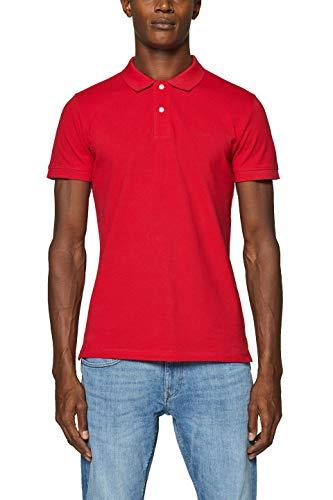 ESPRIT Herren 999EE2K803 Poloshirt, Rot (Red 630), X-Large (Herstellergröße: XL)