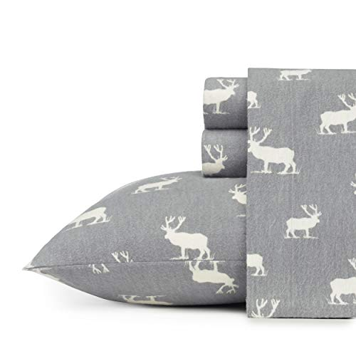 Eddie Bauer Elk Grove Flannel Sheet Set Queen