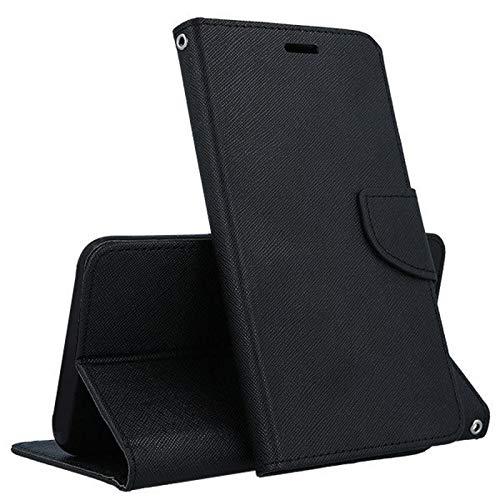"""Compatibile pour Asus Zenfone Go ZB500KL 5.0 """" X00ADA X00ADC X00AD/ZB500KG 5.0 """" (X00BD) Housse Etui Noir Stand Flip Livre Gel Silicone Cuir Écologique Porte Monnaie Magnetica Port Cartes"""
