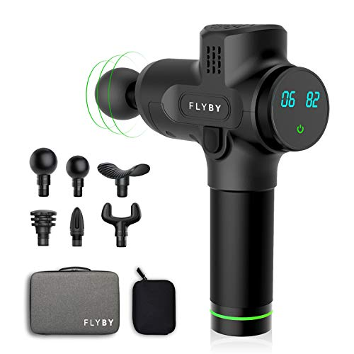 Flyby F2Pro Gun - Deep Muscle Massage Gun - Handheld Cordless Percussion Massager $49.99