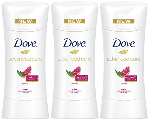 Dove Advanced Care Anti-Perspirant Deodorant, Revive 2.6 Oz (Pack of 3)