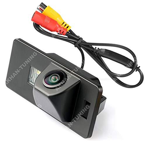 CAM21 - Couleur caméra arrière avec des lignes de quadrillage que la lumière de plaque d'immatriculation, capteur de stationnement pour Audi A3, A4, A5, A6, A8, Q7, S4, R4, S5, TT