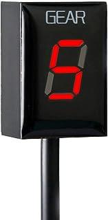 For Honda Gear Indicator LED Display Waterproof Motorcycle Motorbike ECU Plug (Red)