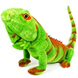 VIAHART Iago The Iguana | 32 Inch (Including Tail Measurement!) Stuffed Animal Plush Lizard | by Tiger Tale Toys