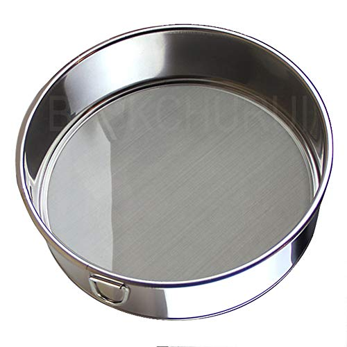 sktaotao Flour Sifter for Baking - Flour Sieve Fine Mesh (6 Inch 60 Mesh) - Premium Rustproof Stainless Steel