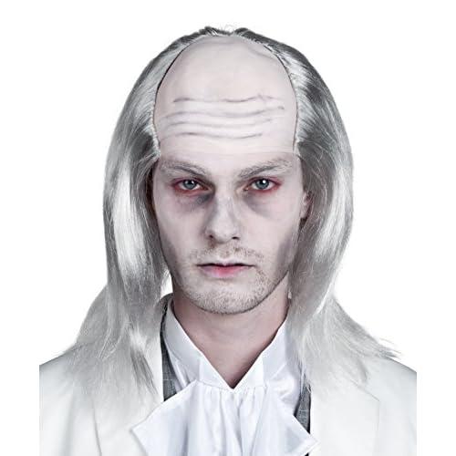 Boland- Parrucca Fantasma per Adulti, Bianco, Taglia Unica, 86338