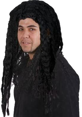 DELUXE LONG HAIRED Max 70% OFF JAMICAN RASTA COSTUME WIG MON ADULT Be super welcome