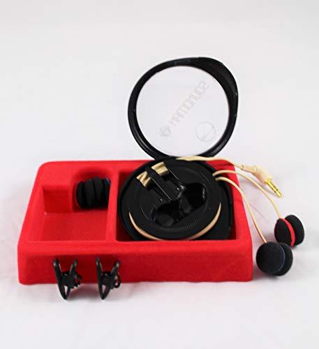 OKM II Classic Solo: Binaurale (Kunstkopf-) Mikrofone, die im Ohr getragen werden, für live-recording, field-recording und ASMR-recording.