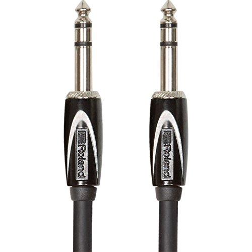 Roland RCC-15-TRTR Interconnect Cables, Black