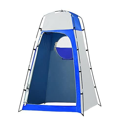 JQAM Tienda de campaña Impermeable para Acampar, protección UV, Tienda de campaña para la Playa, baño extraíble, Cambiador de Ducha para Viajes al Aire Libre, Pesca, Senderismo (Color : A)