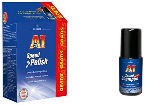 Dr. Wack - A1 Speed Polish, 500 ml inkl. GRATIS A1 Speed Shampoo, 75 ml(#27001)