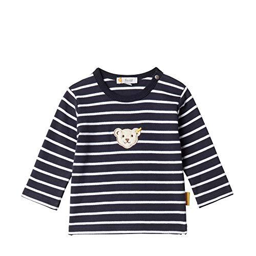 Steiff Sweatshirt Sweat-Shirt, Bleu (Black Iris 3032), 58 (Taille Fabricant: 56) Bébé garçon