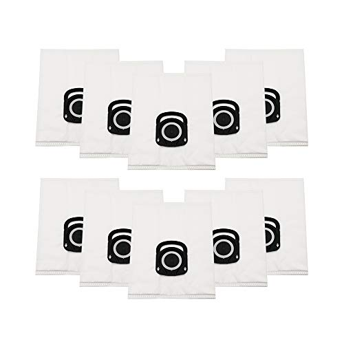 YanBan 10 bolsas de polvo para aspiradora Rowenta Silence Force 4A ZR200520 ZR200720 RO64xx Filtro de higiene y antiolor + cuidado de animales