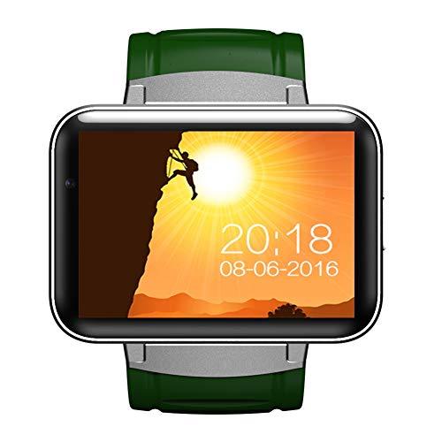 SH-JTL Fitnessarmband, smartwatch, 2 in 1, 2.2inch, slaapmonitor, stappenteller, herinnering tijdens het zitten, anti-verloren zoeken, radio-opname, muziek, wifi, GPS-lokalisatie en navigatie, geschikt voor Android