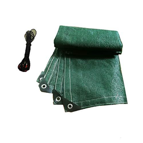 Caixia Malla de Sombra, 6-Pin cifrado Engrosamiento de la sombrilla Neto, Aislamiento/refrigeración (Size : 2x4m)