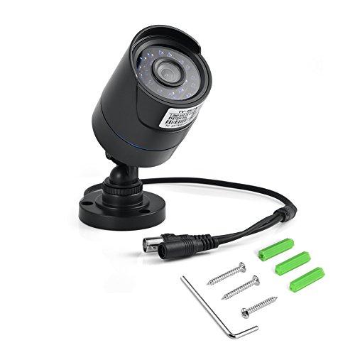 Zerone Telecamera di Sicurezza Domestica HD, Telecamera di Sorveglianza IP66 720P Telecamera per Esterni Telecamera per Esterni con Visione Notturna