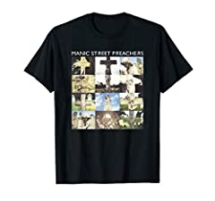 Official Licensed Bravado Manic Street Preachers Cemetery Official Manic Street Preachers Cemetery Lightweight, Classic fit, Double-needle sleeve and bottom hem