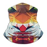 Pasamontañas Portrait of Animal from Top of The Food Chain Face Cover Scarf Neck Gaiter Multifunctional Headwear Sports Pasamontañas Mouth Cover