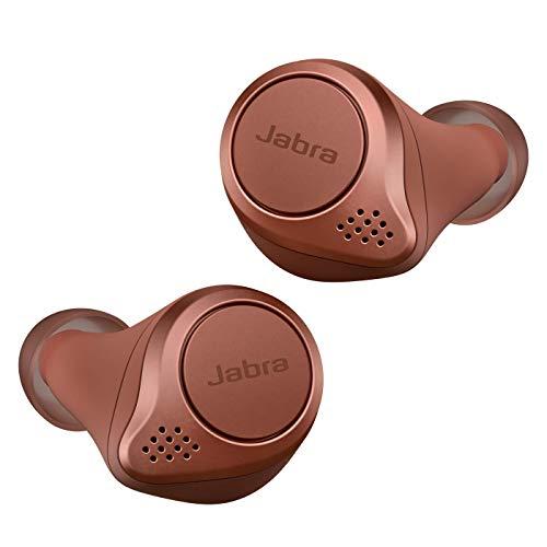 Jabra Elite Active 75t Auricolari, Cuffie per lo Sport True Wireless con Cancellazione Attiva del Rumore e Batteria a Lunga Durata per Chiamate e Musica, Ocra
