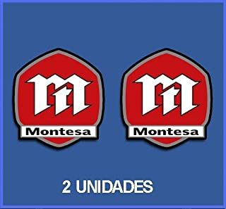 Dp162 Autocollants Adesivi Moto Decals Motorcycles Ecoshirt OT-399G-S8G8 Stickers Stickers Montesa Ref 15 cm