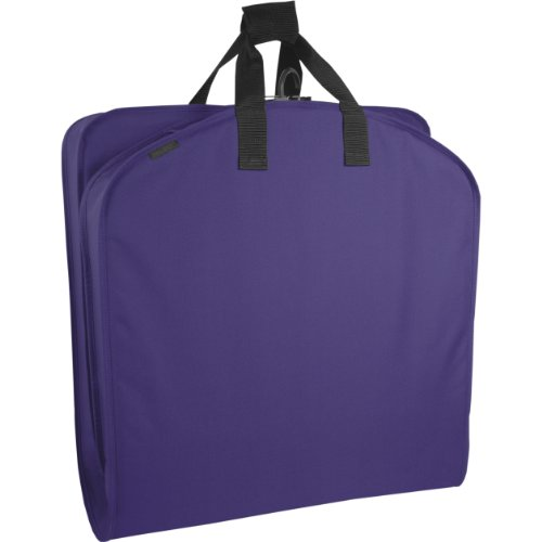 WallyBags 40' Garment Bag, Purple