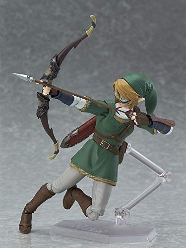 MNYHJDS 320 DX Edición Figura de acción de PVC Modelo de colección Tõyys Figma 319 Anime La Leyenda de Zelda Link: Twilight Princess Ver., Figma 320 con Caja k
