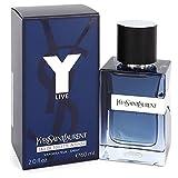 Y Live Intense By Yves Saint Laurent | 2.0 Oz Eau De Toilette Intense Spray | Fragrance For Men
