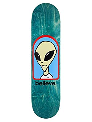 Alien Workshop Multi Believe - 7.75 Inch Skateboard-Deck (One Size, Blau)