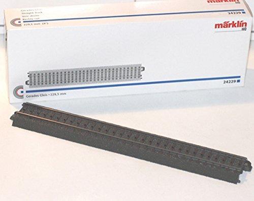 Märklin 24229 H0 Gerades Gleis, 229,3 mm, 1 Gleis