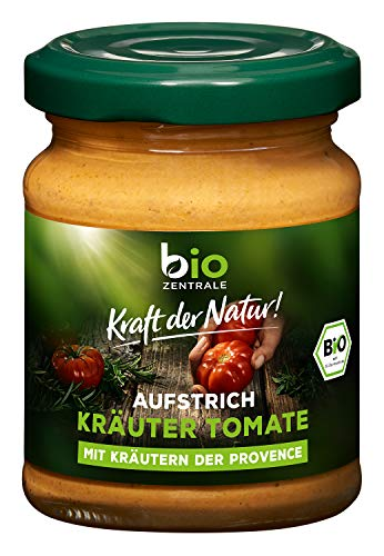 bioZentrale Brotaufstrich Kräuter-Tomate, 125 g