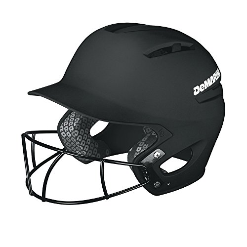 DeMarini Paradox Matte Batting Helmet with Fastpitch Mask
