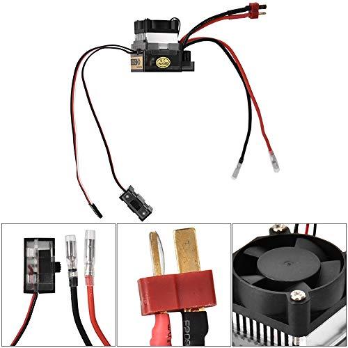 Drfeify Motore ESC RC,ESC ad Alta Tensione 320A Regolatore velocità Elettrico Modello RC Impermeabile Spazzolato Accessori ESC