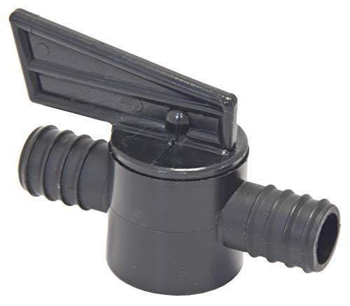 In line arrêt robinet d'arrêt pour tuyau de raccord 4 tailles 1\