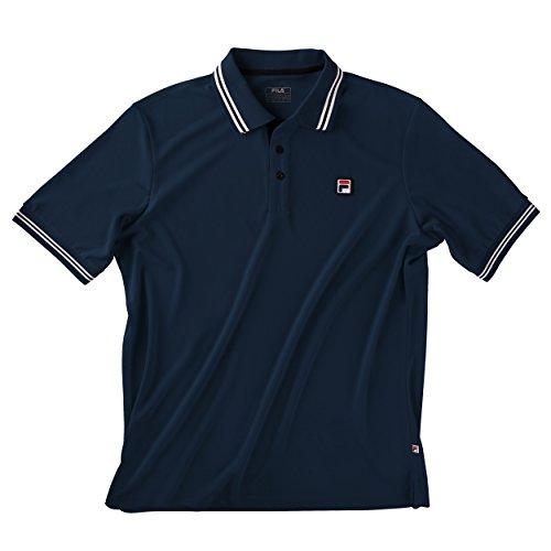 Fila Oberbekleidung Polo Shirt Button Piro, dunkelblau, M
