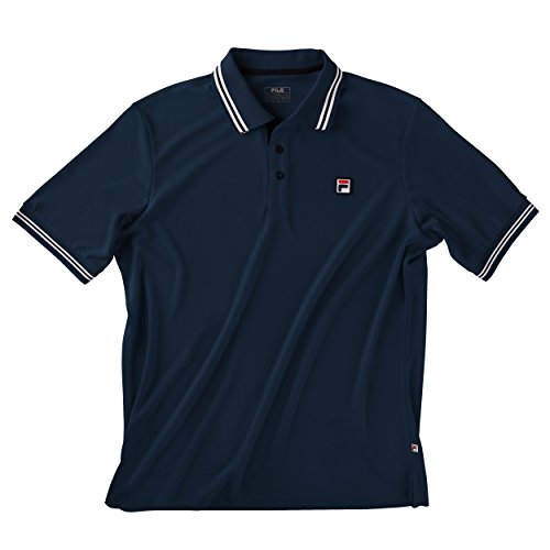 Fila Oberbekleidung Polo Shirt Button Piro, dunkelblau, XL