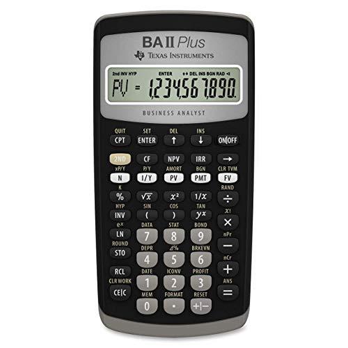Texas Instruments BA II Plus Financial Calculator 3 Pack
