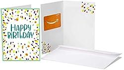 Amazon.de Geschenkgutschein in Grußkarte (Geburtstagskonfetti)