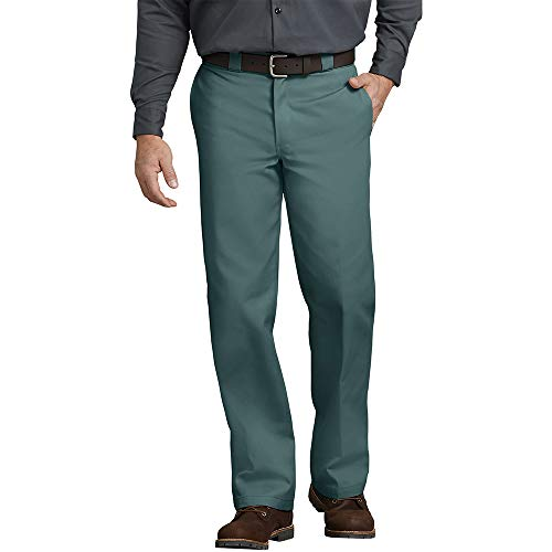 Dickies Herren Slim Straight Work Pants Sporthose, Lincoln Green, 32W/ x 32L