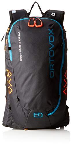 Ortovox Cross Rider 18 Avabag Rucksack, 55 cm, 18 L, Black Raven