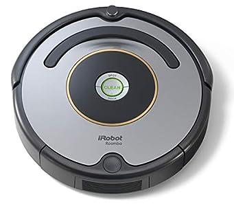 iRobot Roomba 615 - Robot aspirador para suelos duros y alfombras, con tecnología Dirt Detect, sistema de limpieza en 3 fases, 34 x 34 x 9,2 cm,