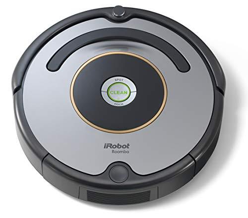 iRobot Roomba 615 - Robot aspirador para suelos duros y alfombras, con tecnología Dirt Detect, sistema de limpieza en 3 fases