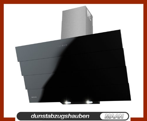 Dunstabzugshaube MAAN Saturn 90 cm, Touchscreen auf dem Schwarz Glas! Fernbedienung! LED-SMD! NEU! 820m3/h! EU Energieeffizienzklasse A! aus Deutschland!!!