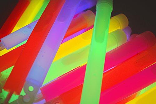 50x Power Mutila Bulk   150x 15mm Varillas de Grasa y Bombilla Claro   6Colores ojete   Mutila Barras Luminosas   Pulseras Glow Stick   Party Luces Neon   Rojo Amarillo Verde Rosa Naranja