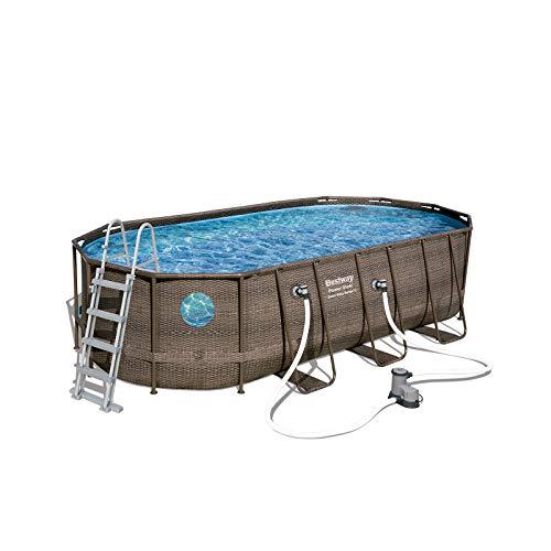BESTWAY 56671 - Piscina Desmontable Tubular Power Steel