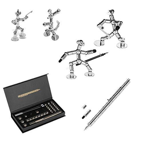 asuku Decompression Magnetic Pen, Magnets DIY Toys,Fidget Toys, Magnetic Sculpture Building Blocks,...